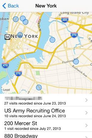 В обновлении iPhone обнаружена функция слежки за пользователем. Изображение № 1.