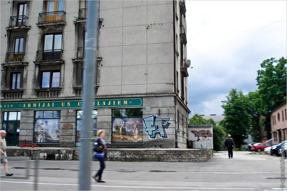 Стрит-арт и граффити Риги. Изображение № 23.