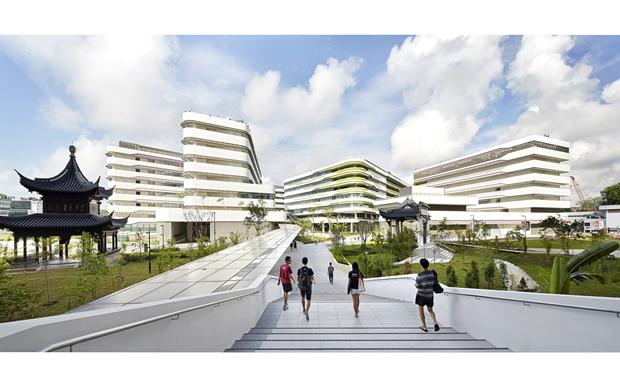 Архитектура дня: новый кампус университета в Сингапуре. Изображение № 1.