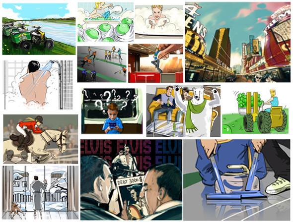 Создать папку: 5 успешных российских иллюстраторов рассказывают о портфолио. Изображение №23.