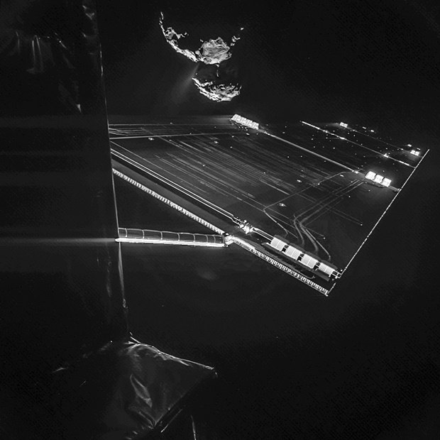 Селфи спускаемого аппарата Philae. Изображение № 5.