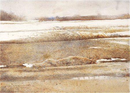 Andrew Wyeth- живопись длясозерцания иразмышления. Изображение № 36.