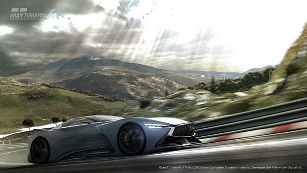 Концепт: суперкар Infiniti для игры Gran Turismo. Изображение № 37.