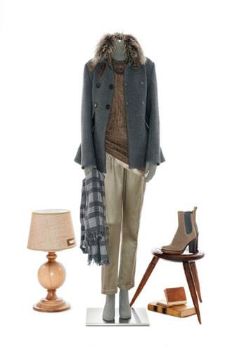 Brunello Cucinelli: лукбук осень-зима 2011/2012. Изображение № 20.