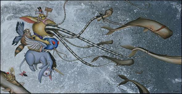 Безумный мир Greg Craola Simkins. Изображение № 8.