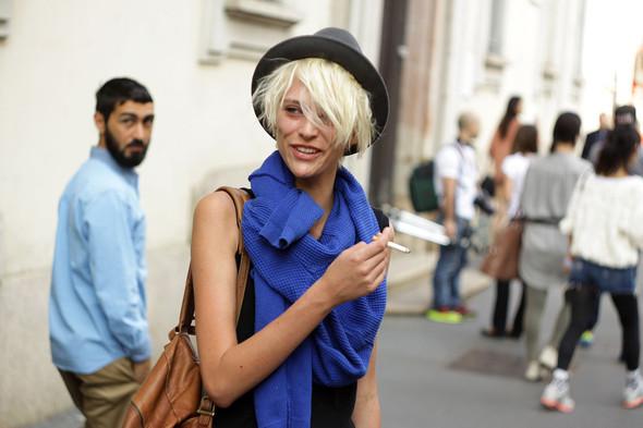 Milan Fashion Week: Модели после показов. Изображение № 11.