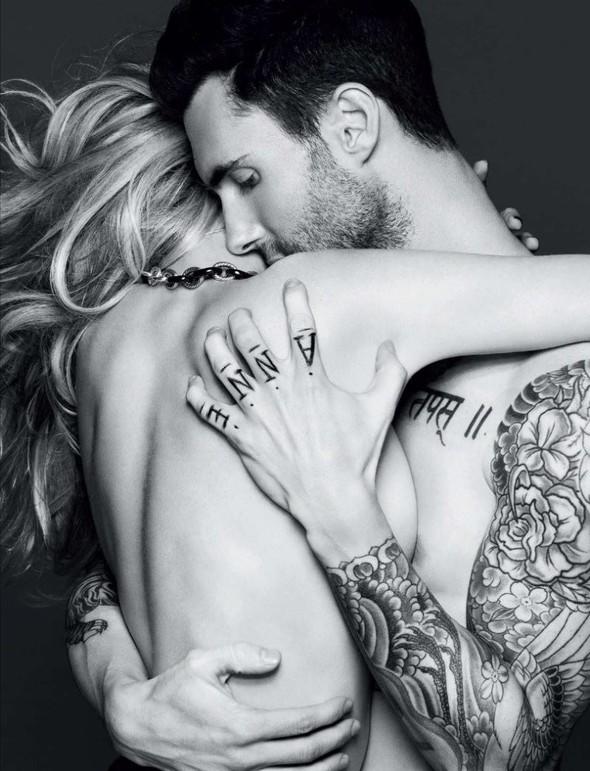 Съёмка: Анна Вялицына и Адам Ливайн для российского Vogue. Изображение № 6.
