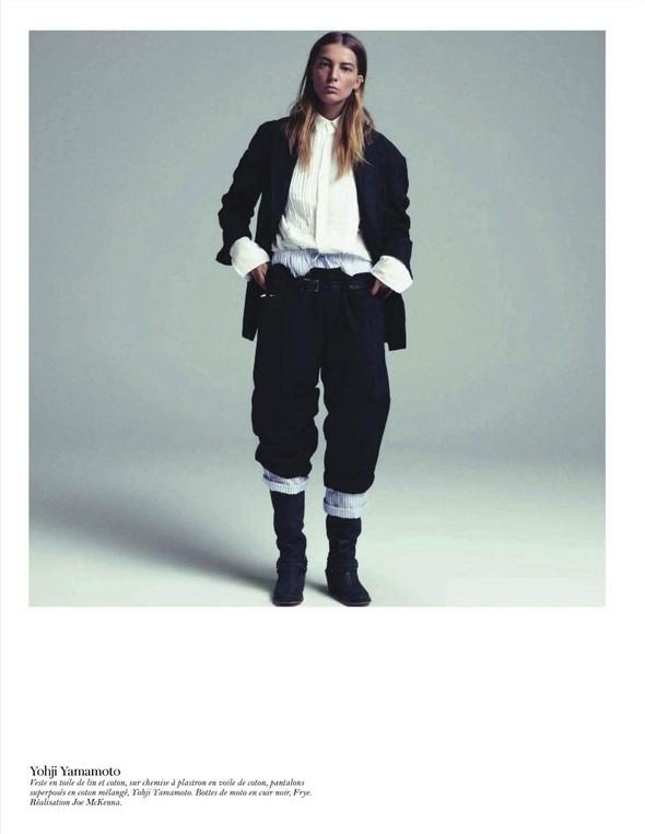 Съёмка: Дарья Вербова для французского Vogue. Изображение № 50.