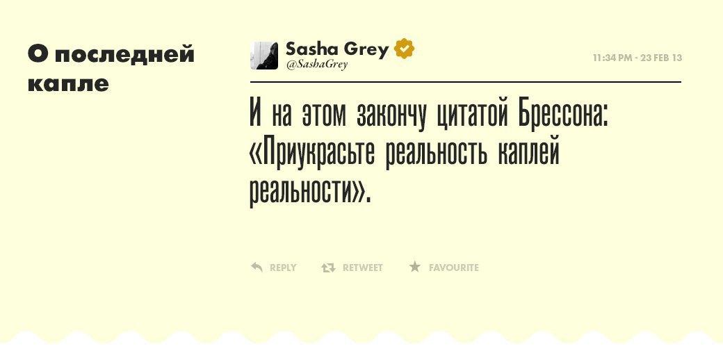 Саша Грей, девушка  многих талантов. Изображение № 20.