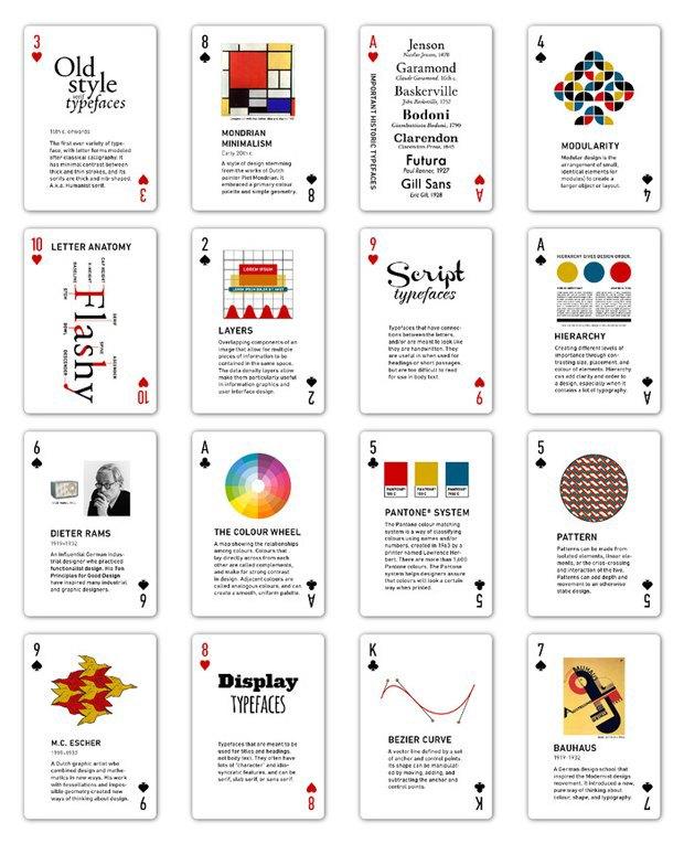Игральные карты научат графическому дизайну. Изображение № 2.