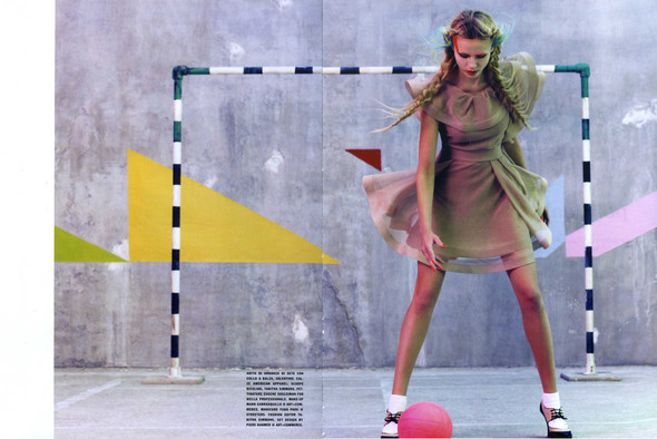 Vogue Italia March 2010 Glam and Sporty. Изображение № 14.