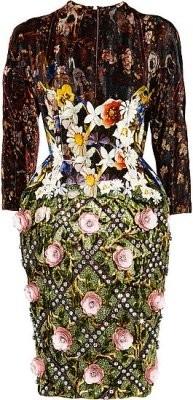 Платье Jewel Tree из коллекции Mary Katrantzou SS 2012. Изображение № 1.