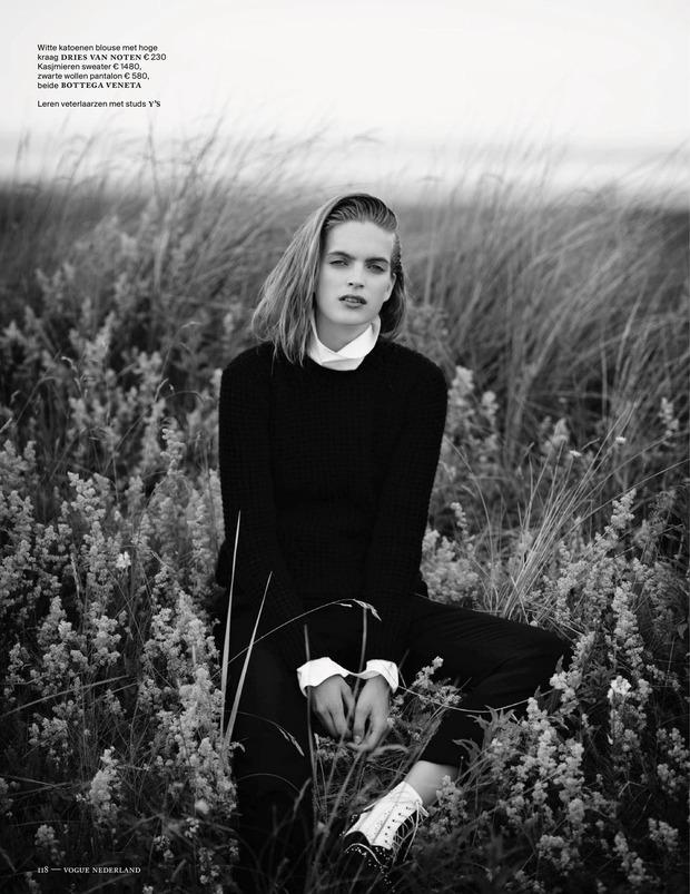 Вышли новые съемки из Bon, Flair, Vogue и других журналов. Изображение № 36.