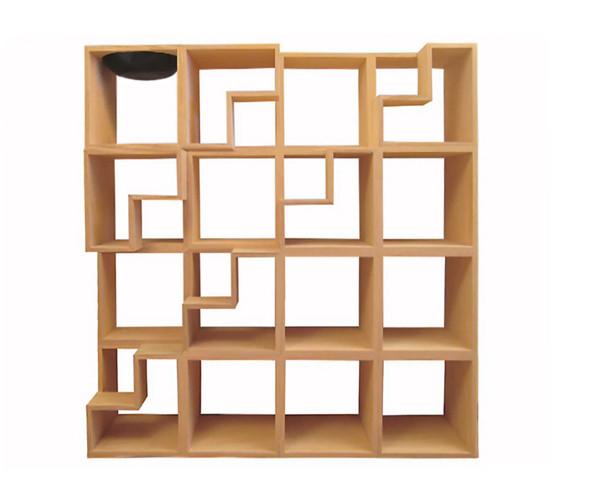 Книжная полка «Кошачья библиотека» бельгийского дизайнера Корентин Домбрехт. Изображение № 47.