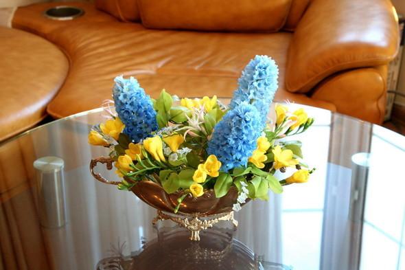 Керамическая флористика. Цветы из глины, ручная работы. Изображение № 2.