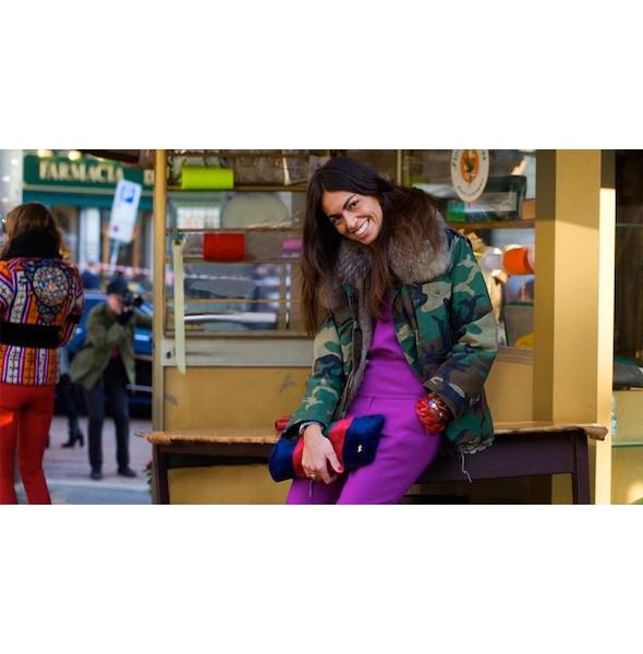 Изображение 67. На полях: 10 тенденций уличного стиля с прошедших недель моды.. Изображение № 67.