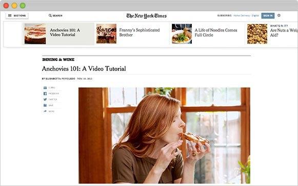 Редизайн сайта NYT:  7 главных изменений . Изображение № 2.