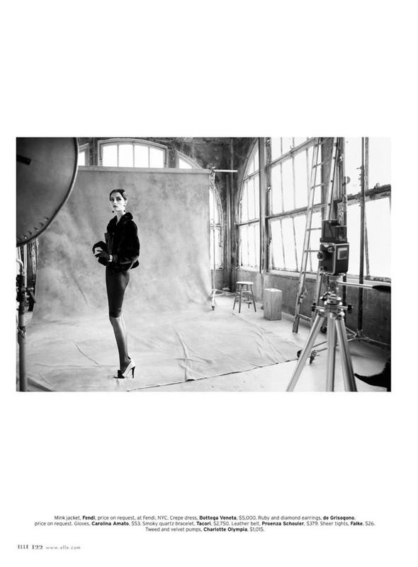 Съёмка: Сюзи Берд для Elle. Изображение № 12.