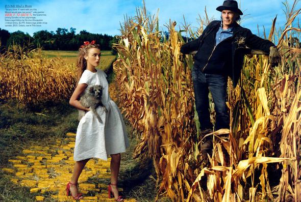 Кира Найтли/Vogue US. Изображение № 5.