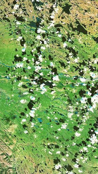 Сайт дня: обои для айфонов из спутниковых карт. Изображение № 3.