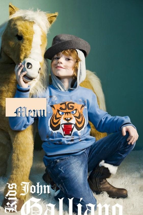 Все лучшее детям: лукбуки D&G, Gucci, John Galliano, Burberry. Изображение № 28.