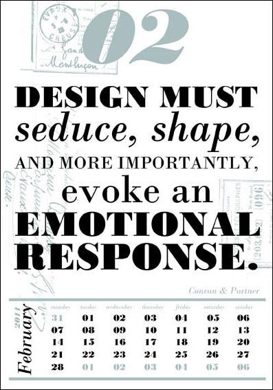 Календарь для дизайнеров от Harmonie Interieure. Изображение № 3.