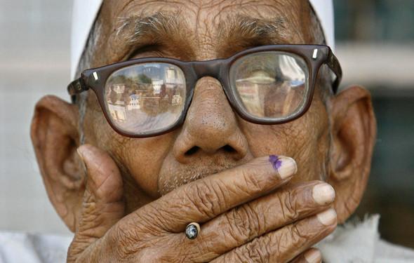 100 лет выборов в документальных фотографиях. Изображение № 126.