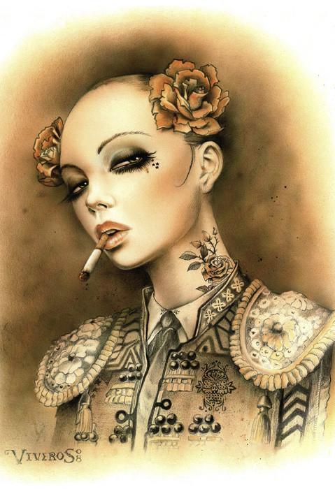 Brian M. Viveros - Американский художник. Изображение № 3.