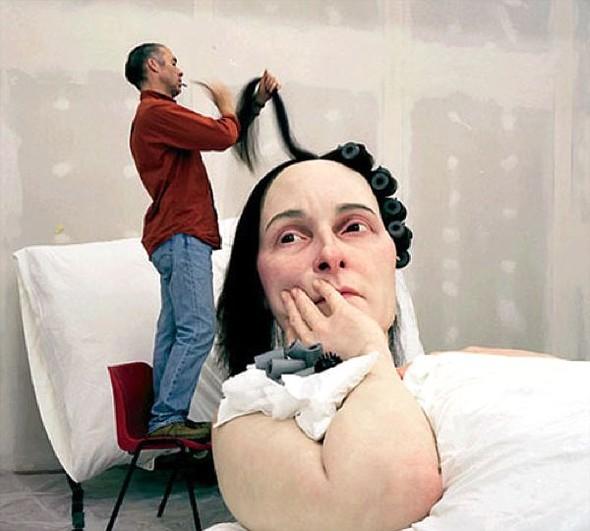Скульптор-гиперреалист РонМуек (Ron Mueck). Изображение №17.