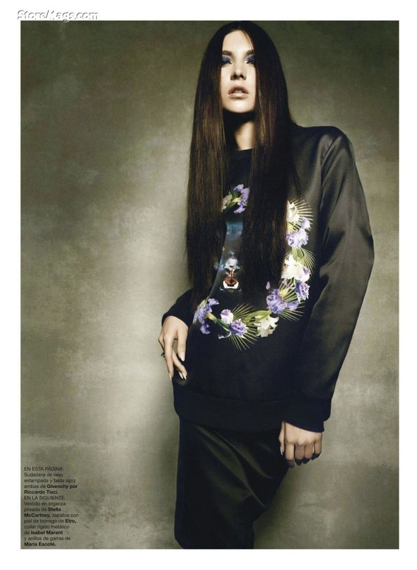 Съёмка: Жаклин Яблонски для Harper's Bazaar. Изображение № 7.