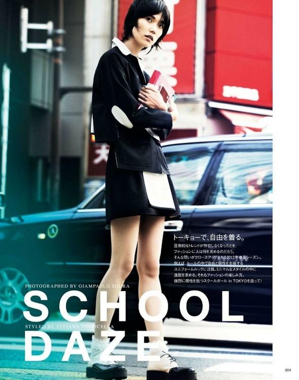 Съёмка: Тао Окамото для Vogue. Изображение № 1.