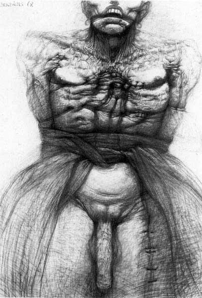Архив работ Ждислава Бексински. Изображение № 23.