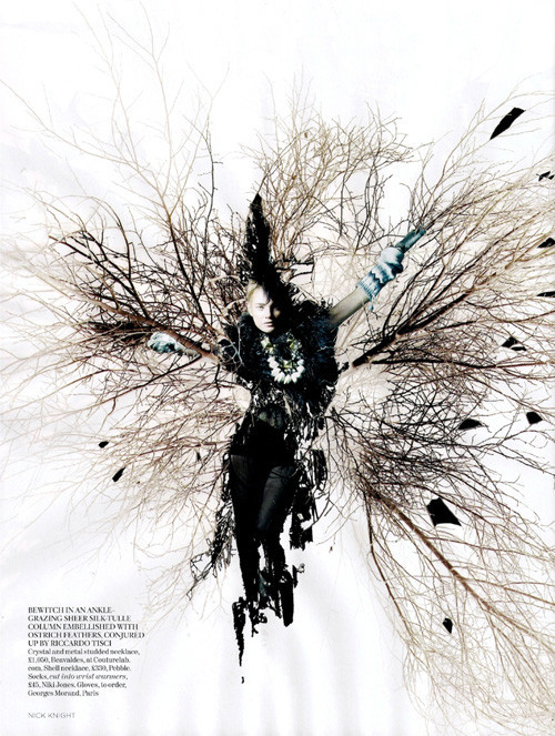 Vogue UK февраль. Изображение № 6.