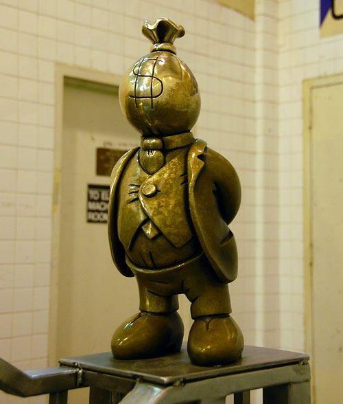 Скульптуры вНью-Йоркском метро. Изображение № 1.