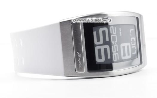 Часы Phosphor WORLD TIME с дисплеем из электронной бумаги. Изображение № 4.
