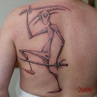 Татуировки в стиле Иннормизма. Изображение № 2.