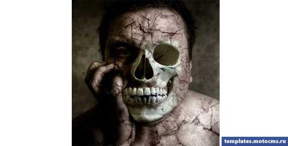 Готовимся к Хэллоуину. Делаем зомби из фотки друзей :). Изображение № 10.