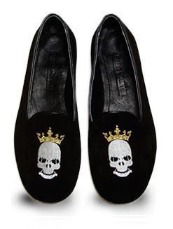 Mario Molinaro - обувь с вышивкой. Изображение № 7.