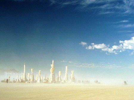 """Фестиваль """"Burning Man! """" вНеваде. Изображение № 35."""