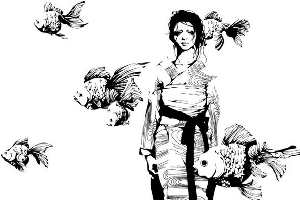 Katsuta Mako – черно-белая грация. Изображение № 14.