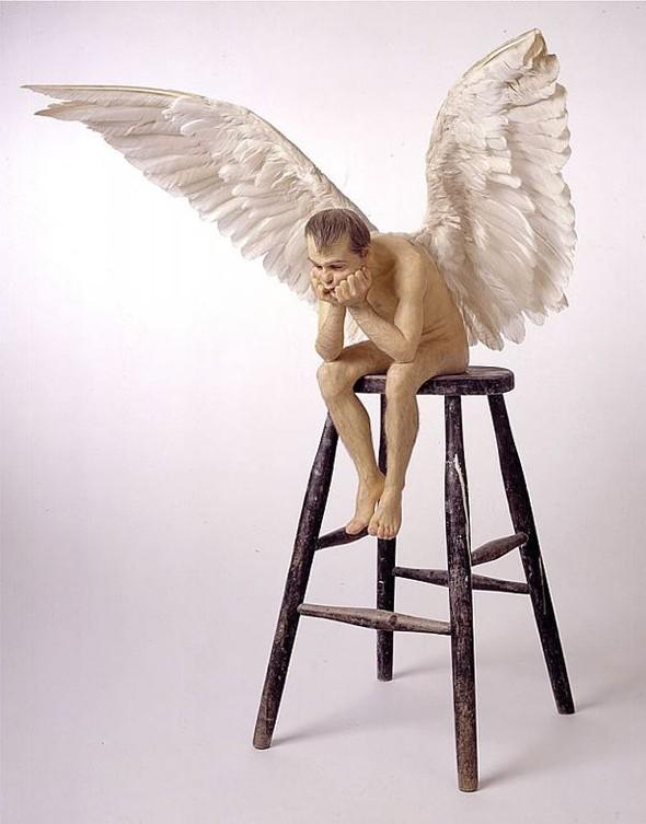 Скульптор-гиперреалист РонМуек (Ron Mueck). Изображение №4.