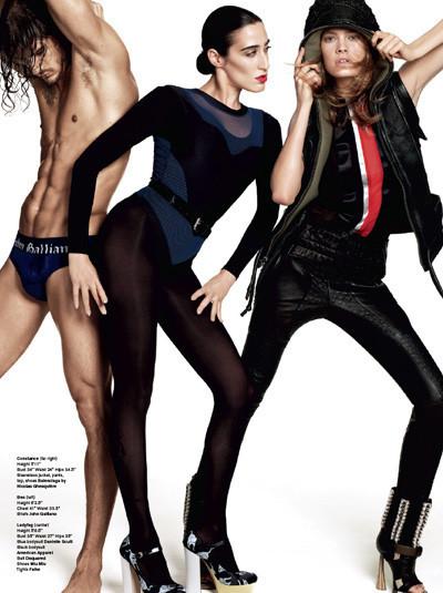 Терри Тсиолис для V Magazine #63. Изображение № 4.