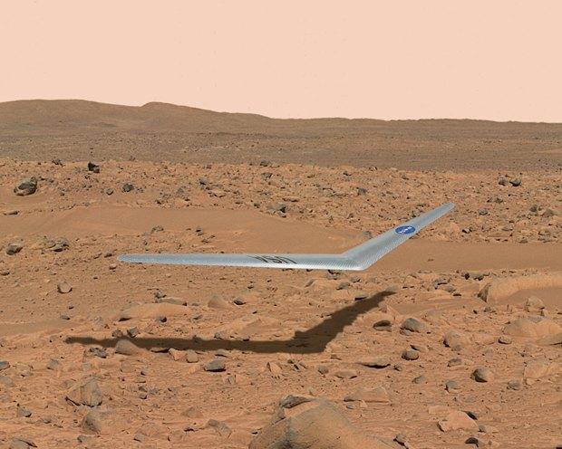 NASA показало проект беспилотника для Марса . Изображение № 2.