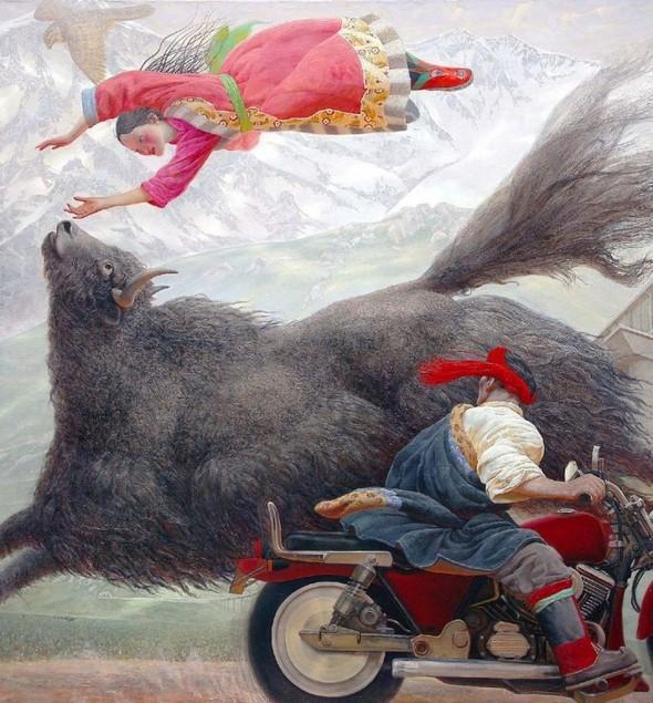 Wang Yi Guang. Feitain, или летающий пух. Изображение № 12.