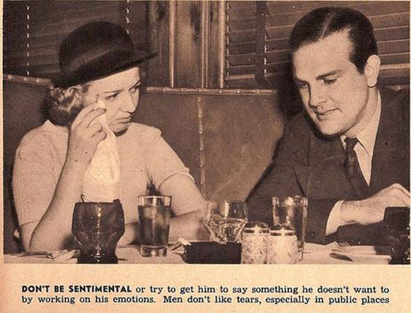 Как завоевать мужчину, вырезки из журнала 1938 года. Изображение № 8.