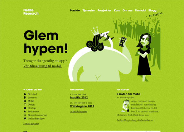 Персонажи в дизайне сайтов. Изображение № 42.