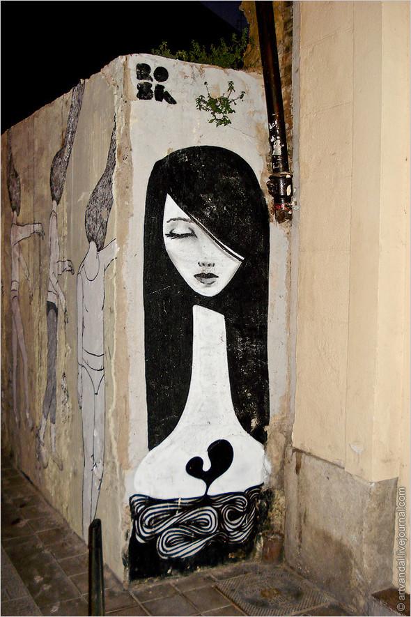 Стрит-арт и граффити Валенсии, Испания. Изображение № 8.