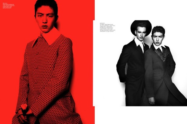Мужские съемки: Dazed & Confused, i-D, Citizen K, Seventh Man и Men's Folio. Изображение № 17.