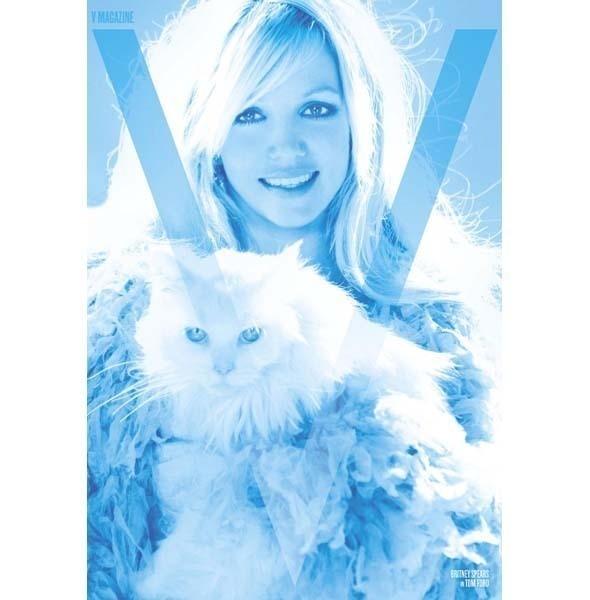 Изображение 3. Бритни Спирс снялась для V.. Изображение № 2.