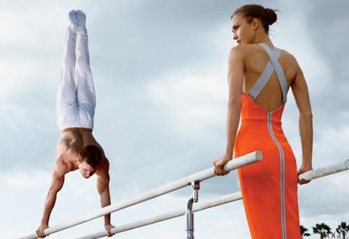 Быстрее, выше, сильнее: Модные съемки, вдохновленные спортом. Изображение №94.